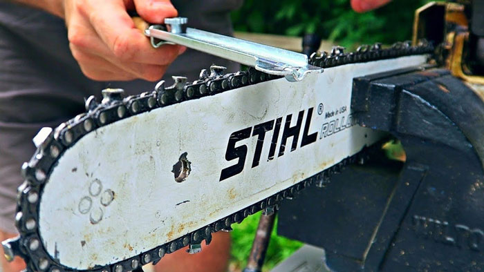 How to Sharpen Your Chainsaw Safely?